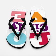 I Love Cindy Flip Flops