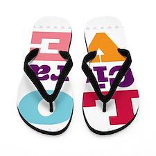 I Love Ciara Flip Flops