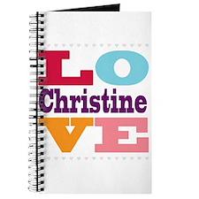 I Love Christine Journal