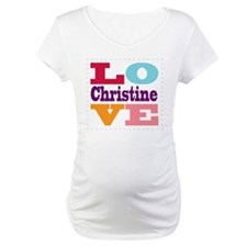 I Love Christine Shirt