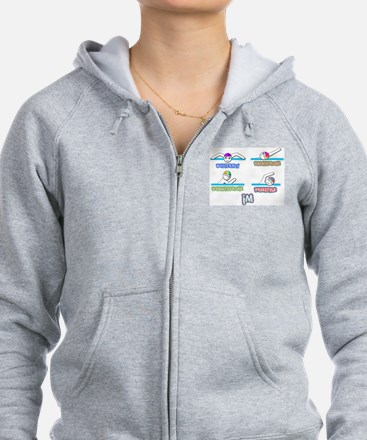 Swim Zip Hoody