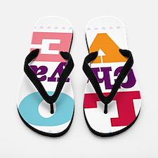 I Love Chaya Flip Flops