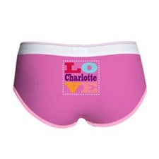I Love Charlotte Women's Boy Brief