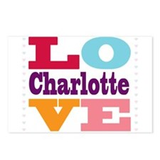 I Love Charlotte Postcards (Package of 8)