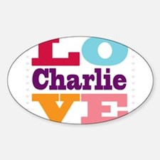 I Love Charlie Decal
