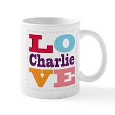 I Love Charlie Mug