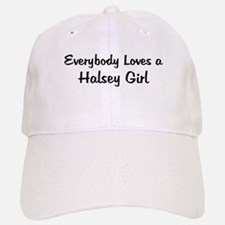 Halsey Girl Baseball Baseball Cap