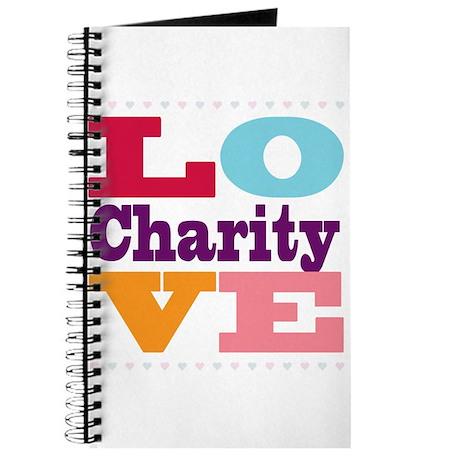 I Love Charity Journal