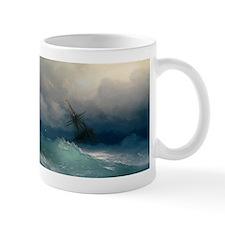 Aivazovsky - Ship on Stormy Seas Mug