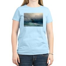 Aivazovsky - Ship on Stormy Seas T-Shirt