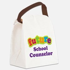 Future School Counselor Canvas Lunch Bag