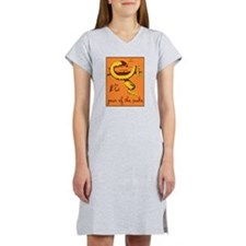 year of the snake Women's Nightshirt