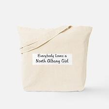 North Albany Girl Tote Bag
