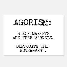 Agorism: Black Markets Are Free Markets Postcards