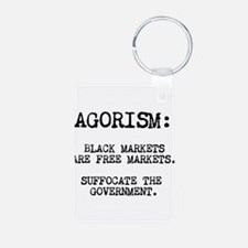 Agorism: Black Markets Are Free Markets Keychains