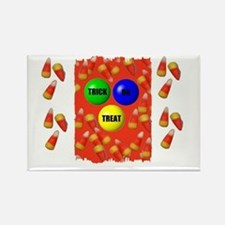 TRICK OR TREAT (HALLOWEEN) Rectangle Magnet