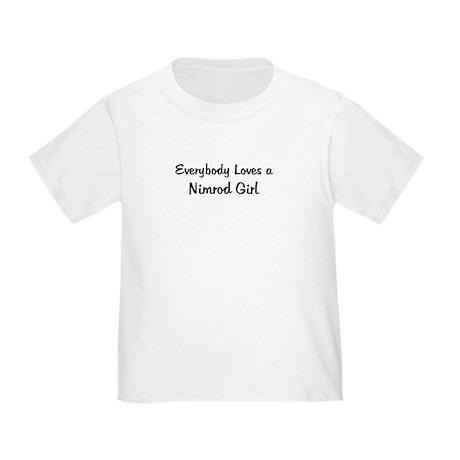 Nimrod Girl Toddler T-Shirt