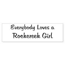 Rockcreek Girl Bumper Bumper Sticker