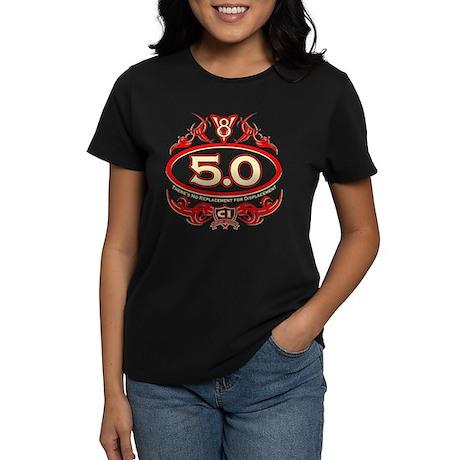 5.0 Engine Women's Dark T-Shirt