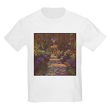 Charles Monet - Garden Path 1902 T-Shirt