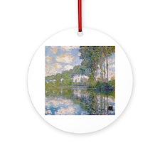 Claude Monet - Poplars at the Epte c1900 Ornament