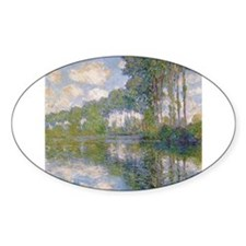 Claude Monet - Poplars at the Epte c1900 Decal