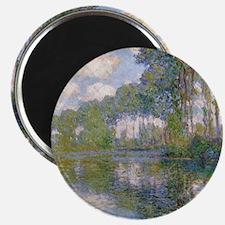 Claude Monet - Poplars at the Epte c1900 Magnet