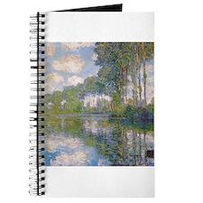 Claude Monet - Poplars at the Epte c1900 Journal