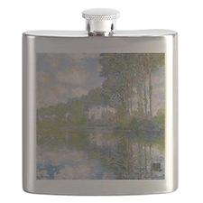 Claude Monet - Poplars at the Epte c1900 Flask