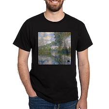 Claude Monet - Poplars at the Epte c1900 T-Shirt