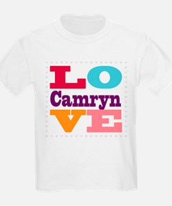 I Love Camryn T-Shirt