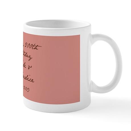 Pride & Prejudice 200th Birthday Mug