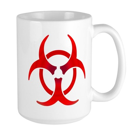 Ruby Bio-hazard Large Mug