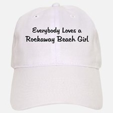 Rockaway Beach Girl Baseball Baseball Cap