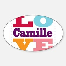 I Love Camille Decal