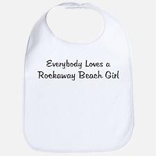 Rockaway Beach Girl Bib