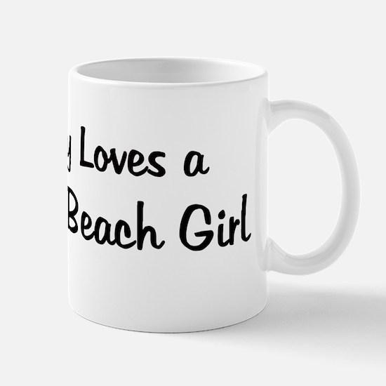 Rockaway Beach Girl Mug