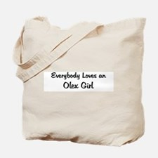 Olex Girl Tote Bag