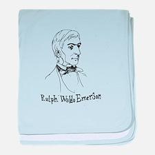 Ralph Waldo Emerson baby blanket