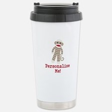 Classic Sock Monkey Travel Mug