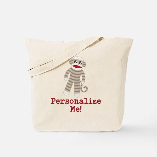 Classic Sock Monkey Tote Bag