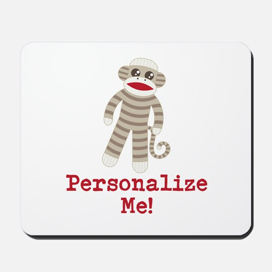 Classic Sock Monkey Mousepad