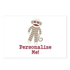 Classic Sock Monkey Postcards (Package of 8)