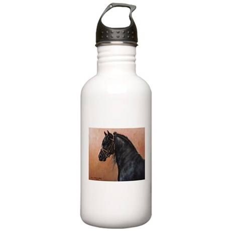 Friesian Horse Stainless Water Bottle 1.0L