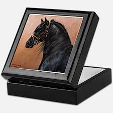 Friesian Horse Keepsake Box