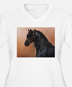 Friesian Horse T-Shirt