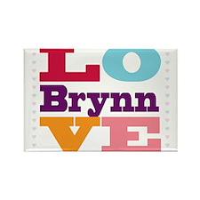 I Love Brynn Rectangle Magnet