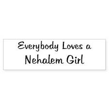 Nehalem Girl Bumper Bumper Sticker