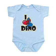I Love Dino Onesie
