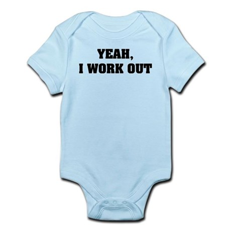 YEAH, I WORK OUT Body Suit